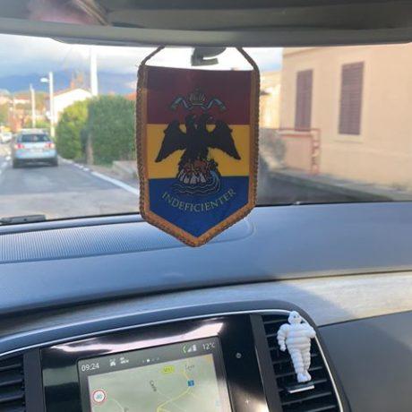 riječka gradska zastavica za auto