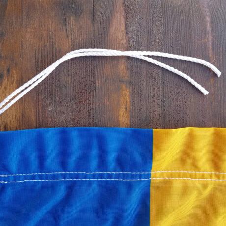 Riječka gradska zastava sa špagom