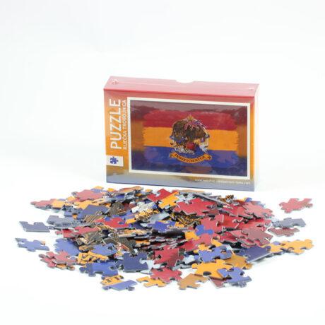 Puzzle – Riječka trobojnica Obiteljska igra