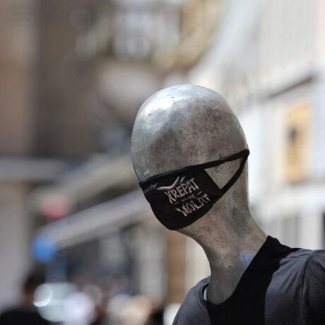 maska za lice Krepat ma ne molat